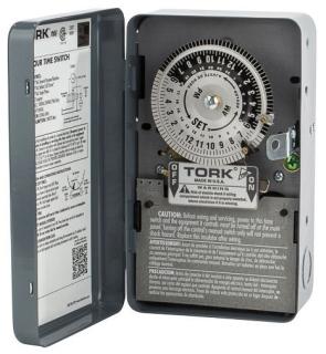 TORK 1101 SPST 120V 40A TIME SWITCH