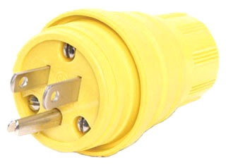 WOO 14W47 WATERTITE PLUG NEMA 5-15P