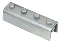 BL B172-ZN FOUR HOLE SPLICE CLEVIS