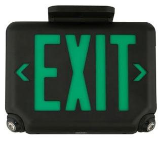 DUAL EVCUGW CMBO EXIT&EMG LT