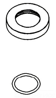 Kohler 1108461-SN; ; inlet kit p-trap drian; in Vibrant Polished Nickel