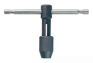 "IRWIN 12402ZR TAP WRENCH HANDLE ""T"" FOR 1/4""-1/2"" TAPS"