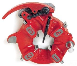 RIDGID 26137 PART- RIGID MODEL 911 SELF-OPENING DIE HEAD (BSPT) FOR RIGID MODEL 1224 THREADING MACHINE