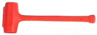 STANLEY 57-554 DEAD BLOW COMPO-CAST 11.5 LB. SOFT FACE SLEDGE HAMMER HI-VIZ ORANGE