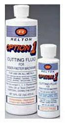 RELTON 04Z-OP OPTION-1 CUTTING FLUID 4 OZ. WATER BASED LEAVES NO OILY RESIDUE [24/CS]