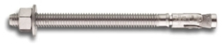 """POWERS 7644SD6 POWER STUD+ 316SS 3/4"""" X 6-1/4"""" WEDGE ANCHOR STAINLESS STEEL [20/60]"""