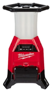 "MILWAUKEE 2150-20 M18 LED RADIUS SITE LIGHT CHARGER 9,000 LUMENS 360 DEGREE COVERAGE 18V LI-ION ""BARE"" TOOL ONLY WITH ONE KEY DIGITAL APP PLATFORM"
