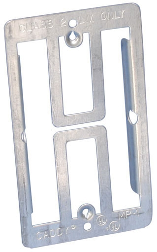 CADDY MP2 DOUBLE GANG PLANK MOUNTING BRACKET