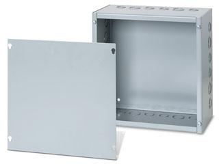 Austin AB-884SB 8 x 8 x 4 Inch N1 Galvanized Box with Screw Cover