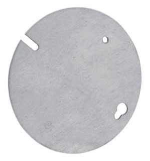 Crouse-Hinds Series TP649 Steel Flat Blank Concrete Box Plate