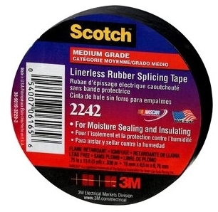3M 2242-3/4x15FT Linerless Splicing Compound