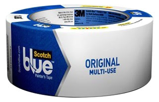 3M 2090-2090-48E-G Scotch Blue 2 Inch x 60 Yard Painters Tape