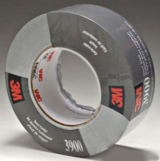 3M 3900-Silver 48 mm x 54.8 m Silver Duct Tape