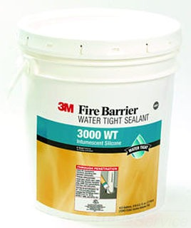 3M 3000WT-4.5gal Pail Fire Barrier Water Tight Sealant
