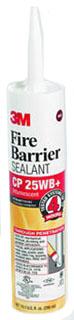 3M CP-25WB+ 10.1 oz Fire Barrier Caulk Cartridge