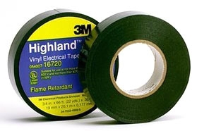 3M Highland-3/4x66FT 1.5in CORE Vinyl Tape