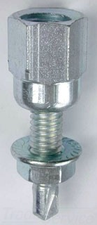 "Dottie SSM14B 1/4""-20 TPI Bottom Mount Metal Drilling Rod Hanger"