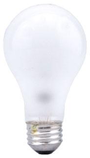 Sylvania 13002 120 Volt 100 W 100 CRI 1260 lm Inside Frosted Medium Base A19 Incandescent Lamp