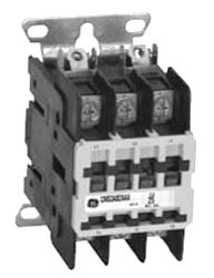 GE Industrial Solutions 453AC2AAA 2-Pole 110 to 120 Volt 30 Amp Non-Reversing Full Voltage Definite Purpose Contactor