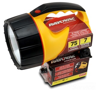 Rayovac WHKLN6V-BA 75 Lm 6 Volt Battery Included Workhorse Krypton Bulb Floating Lantern