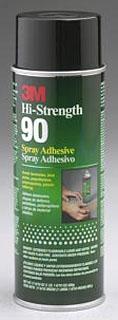 3M 90 24 oz 12/Case High Strength Adhesive