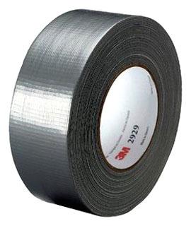 3M 2929-Silver-48mm 1.88 Inch x 50 Yard (48 mm x 45.7 m) 6.0 mils Utility Duct Tape