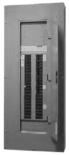 Eaton Electrical PRL1A1400X42C 120/240 VAC 400 Amp 1-Phase 3-Wire Copper Main Lug/Main Breaker Panelboard Interior