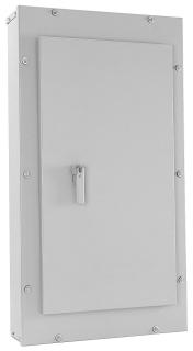 GE Industrial Solutions AB433A 20 x 43.5 Inch NEMA 3R/12 Panelboard Enclosure Panel