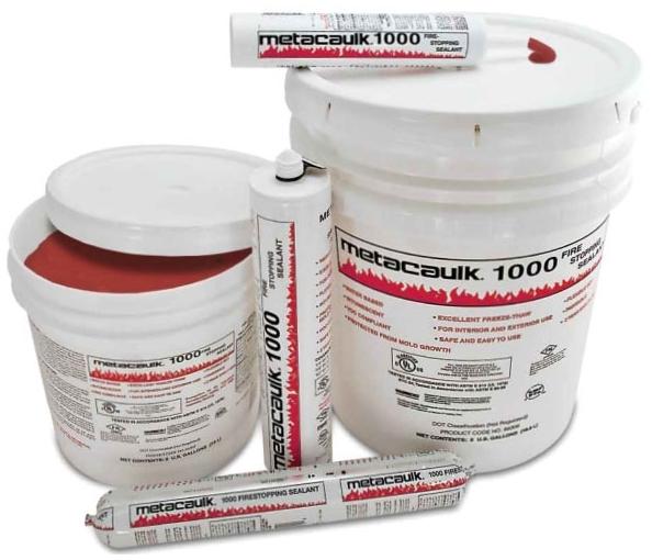 Rectorseal 66309 5 Gallon Red Metacaulk