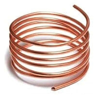 Bare Soft Drawn 6 AWG Solid Copper 1000 Foot Reel Cable