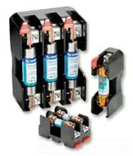 Littelfuse LFR60030-3CID 3-Pole 30 Amp 600 Volt Class R Fuse Block