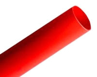 "3M FP301-3/8-48""-Red-12 Pcs Thin Wall Shrink Tubing"