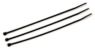 3M CT6BK40-C 100/Bag 6 Inch Black 40 lb Cable Tie