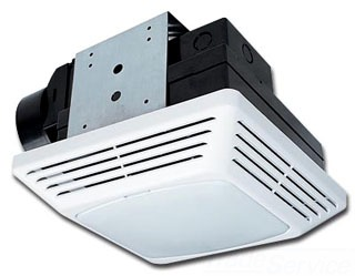 Air King BFQF70 4 Inch Duct 70 CFM 1.5 Sones Snap-In Exhaust Fan
