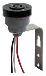 Tork 2421 120 to 480 VAC Lighting Photocontrol Receptacle with Mounting Bracket