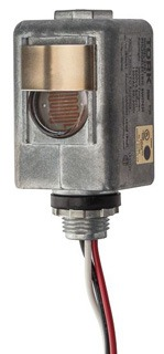 Tork 2101 120 VAC 2000 W Tungsten SPST Thermal Lighting Photocontrol