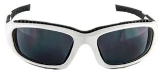 3M SS1502AF-W White Frame Gray Anti-Fog Lens 10/Case Safety Sunwear