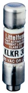 Littelfuse KLKR020 20 Amp 600 VAC 300 VDC Class CC Fast Acting Fuse