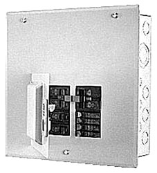 GE Industrial Solutions TM860RCUGEN 120/240 VAC 60 Amp 1-Phase 3-Wire 8-Circuit NEMA 3R Main Breaker Load Center