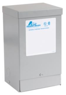 Actuant T181050 1 Phase 60 Hz 120 x 240 Volt Input 12-24 Volt Output Lighting Transformer