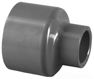 """4500-2010 2""""X 1"""" SCH 80 PVC SOC REDUCER (829-249 LASCO)(PVC 8100) 039923150585"""