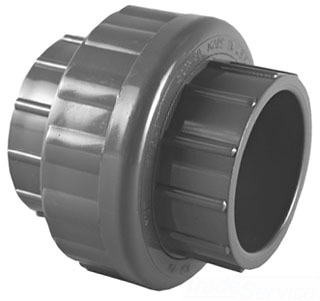 "4533E-06 3/4"" SCH 80 PVC SOC UNION W/EPDM O-RINGS (897-007 LASCO)"