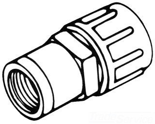 "GBF77 1-1/2"" POLY GRIP FEMALE COMPRESSION ADAPTOR 731-15"