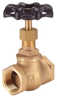 "IB440-10 1"" IP HAMMOND 125# WSP 200 WOG BRONZE GLOBE VALVE BRONZE DISC TB Not approved for Potable Water 2014"