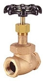 "IB413T-02 1/4"" IP HAMMOND 150# WSP 300 WOG BRONZE GLOBE VALVE TEFLON DISC UB Not approved for Potable Water 2014"
