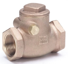 "IB904-14 1-1/2"" IP HAMMOND 125# WSP 200 WOG SWING CHECK VALVE Not approved for Potable Water 2014"