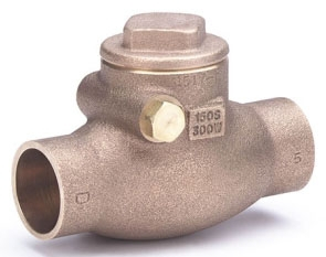 "IB912-06 3/4"" HAMMOND 125# WSP 200 WOG SWING CHECK VALVE SOLDER END Not approved for Potable Water 2014"