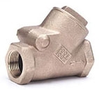 "IB949-04 1/2"" IP HAMMOND 300# WSP 600 WOG SWING CHECK VALVE Not approved for Potable Water 2014"