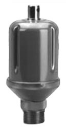 "75 (401434) HOFFMAN MAIN STEAM VENT 1/2"" NPT female and 3/4"" NPT male straight shank"
