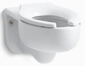 "K4450-C-0 KOHLER WH STRATTON ELG WALL HUNG ADA BOWL (3.5GPF) 1-1/2"" TOP SPUD"
